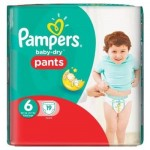 Pack 19 Couches Pampers Active Baby Dry sur layota