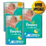 Giga Pack de 522 Couches de Pampers Active Baby Dry sur layota