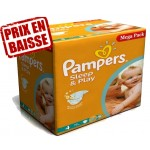 Gros pack 250 Couches de Pampers Sleep & Play sur auchan