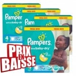592 Couches Pampers Active Baby Dry taille 4