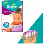 348 Couches Pampers Active Fit taille 5+