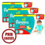 105 Couches Pampers Baby Dry Pants taille 6