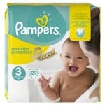 Pack 29 Couches Pampers Premium Protection sur layota