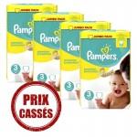 Pack économique 232 Couches Pampers Premium Protection sur auchan