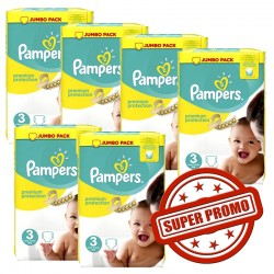 435 Couches Pampers Premium Protection taille 3