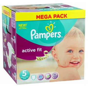 232 Couches Pampers Pampers Active Fit Taille 5 Pas Cher Sur Layota