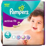 Pack 54 Couches Pampers Active Fit sur layota