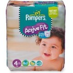 78 Couches Pampers Active Fit taille 4