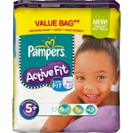 Pack 58 Couches Pampers Active Fit sur layota