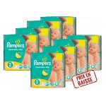 Maxi Mega pack de 408 Couches Pampers New Baby Dry sur auchan