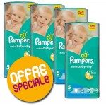 232 Couches Pampers Active Baby Dry taille 5