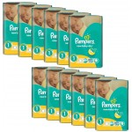 Maxi Giga Pack 860 Couches Pampers New Baby Dry sur layota