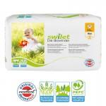 Pack de 28 Couches bio écologiques de Swilet Sensitive sur auchan