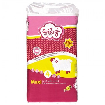 50 Couches Wilogi New Baby Dry taille 4