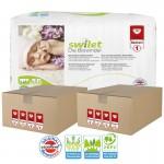 Giga pack 44 Couches bio écologiques de Swilet sur layota