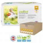 Maxi Giga pack 168 Couches bio écologiques Swilet sur auchan