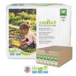 Giga pack 144 Couches bio écologiques Swilet sur auchan