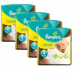 pack 115 Couches Pampers de New Baby Premium Protection sur auchan