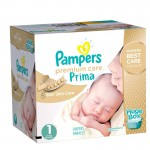 Maxi Giga pack de 324 Couches Pampers de Premium Care sur layota