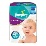 Pack de 94 Couches Pampers Active Fit sur layota