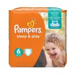 Pack de 58 Couches Pampers Sleep & Play sur layota
