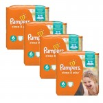 Giga pack de 174 Couches Pampers Sleep & Play sur layota