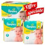 Pack Jumeaux 672 Couches Pampers de Premium Protection sur auchan