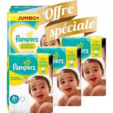 539 Couches Pampers Pampers Premium Protection Taille 4 A Petit