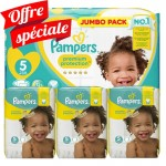 340 Couches Pampers Premium Protection - New Baby taille 5