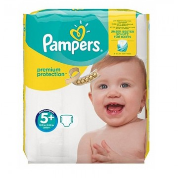 32 Couches Pampers New Baby Premium Protection taille 5+