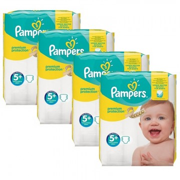 160 Couches Pampers New Baby Premium Protection taille 5+