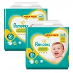 256 Couches Pampers Premium Protection - New Baby taille 5+