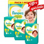480 Couches Pampers Premium Protection - New Baby taille 6