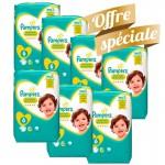 Giga Pack de 155 Couches Pampers de Premium Protection sur auchan