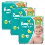 Pack de 84 Couches de Pampers Baby Dry sur auchan