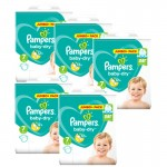 168 Couches Pampers Baby Dry taille 7
