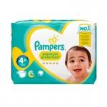 Pack 62 Couches de Pampers Premium Protection sur auchan
