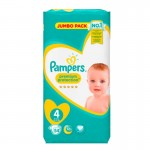 Pack de 54 Couches Pampers New Baby Premium Protection sur auchan