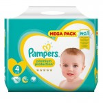 78 Couches Pampers New Baby - Premium Protection taille 4