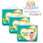 468 Couches Pampers New Baby - Premium Protection taille 4