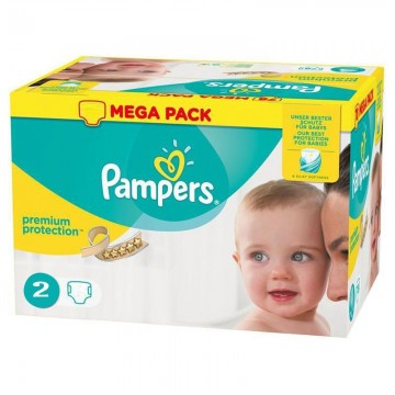240 Couches Pampers Pampers New Baby Taille 2 A Bas Prix Sur Layota