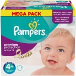 Pack de 62 Couches Pampers Active Fit sur auchan