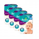 Mega Pack de 248 Couches Pampers Active Fit sur auchan