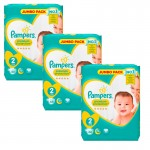 204 Couches Pampers New Baby - Premium Protection taille 2