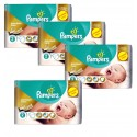 266 Couches Pampers New Baby Premium Care taille 2