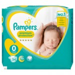 Pack 24 Couches Pampers New Baby Premium Protection sur auchan