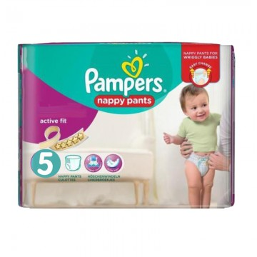30 Couches Pampers Active Fit Pants taille 5