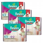 Maxi Pack 330 Couches Pampers Active Fit sur auchan