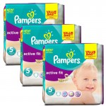 Maxi Giga Pack de 141 Couches Pampers d'Active Fit sur auchan