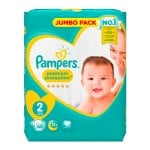 Pack 68 Couches Pampers de New Baby Premium Protection sur auchan